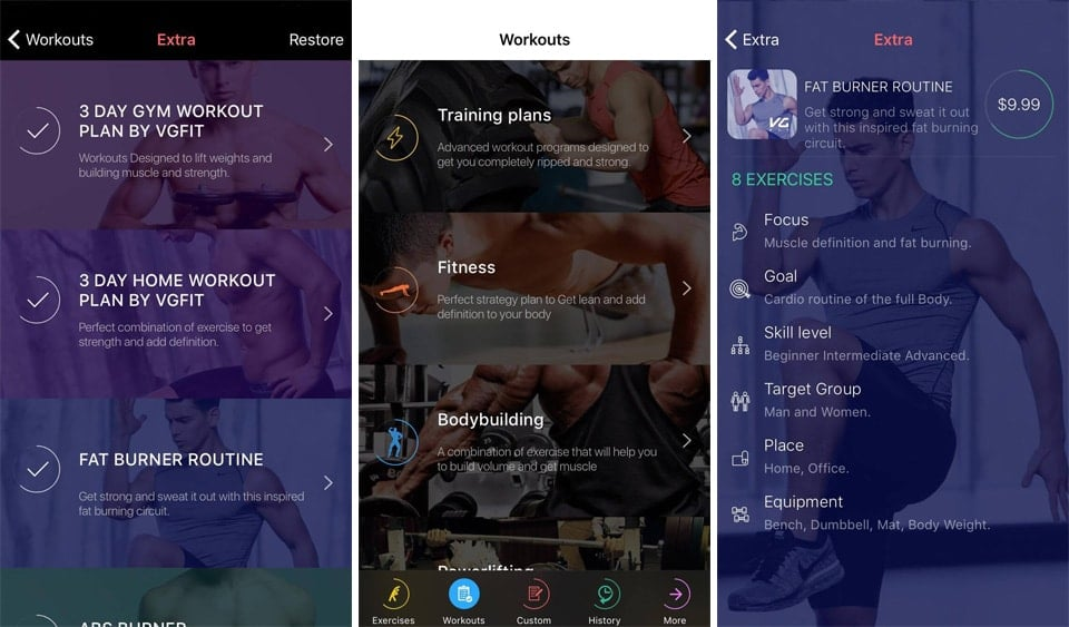 VGFIT EXTRA PLANS ARE DESIGNED TO HELP YOU TRAIN BETTER STAY MOTIVATED AND FEEL GREAT